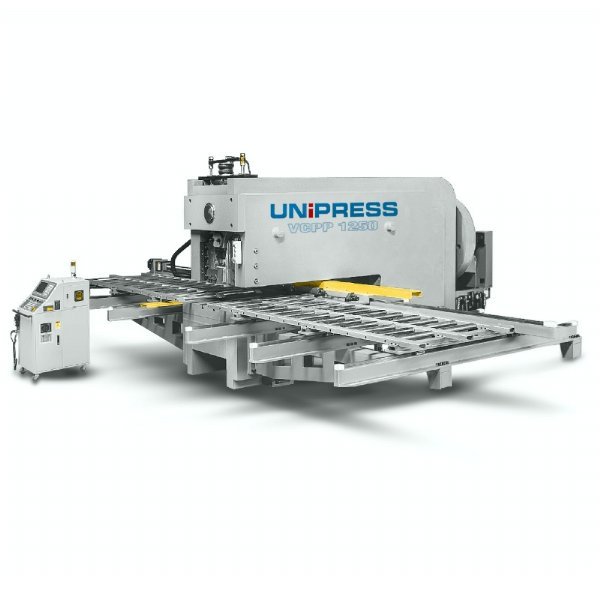 VCPP - C FRAME GANTRY TYPE PERFORATION PRESS WITH 2 AXIS FEEDING TABLE